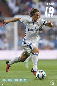Real Madrid 2016/2017 - Luka Modrić Plakát