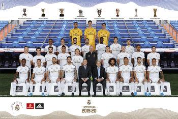 Real Madrid 2019/2020 - Team Plakát