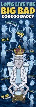Plakát Rick & Morty - Doodoo Daddy