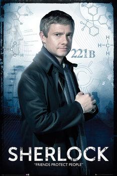 SHERLOCK - Watson Plakát