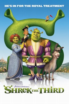 SHREK 3 - royal Plakát