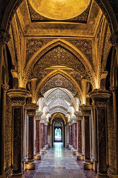 Sintra Palace - Portugal Plakát