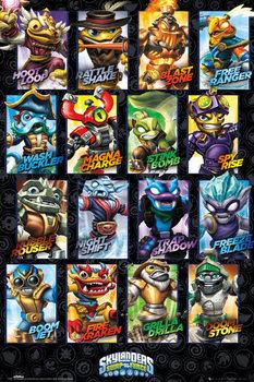 Skylanders swap force - Swappable Characters  Plakát