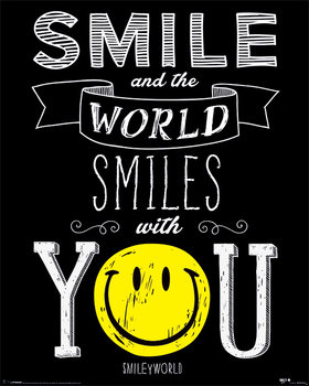 Smiley - World Smiles With You Plakát