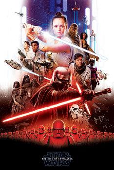Plakát Star Wars: Skywalker kora - Epic