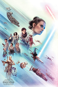 Plakát Star Wars: Skywalker kora - Rey