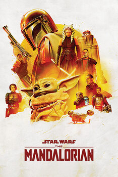 Plakát Star Wars: The Mandalorian - Adventure