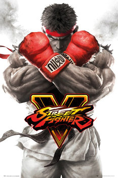 Street Fighter 5 - Ryu Key Art Plakát