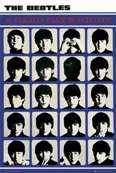 the Beatles - hard days night Plakát