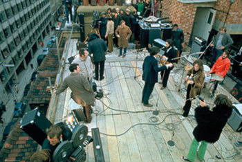 The Beatles - Rooftop Plakát