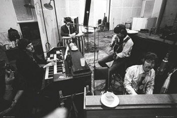 The Beatles - Studio Sgt Peppers Plakát