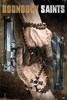 THE BOONDOCK SAINTS - duel guns Plakát
