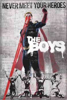 The Boys - Homelander Stencil Plakát