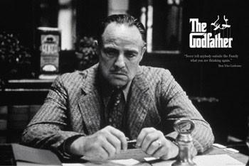 The Godfather - family Plakát