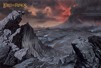 Plakát The Lord of the Rings - Mount Doom