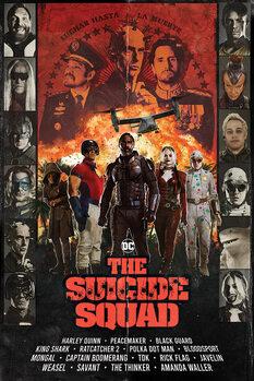 Plakát The Suicide Squad - Team