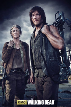 The Walking Dead - Carol and Daryl Plakát