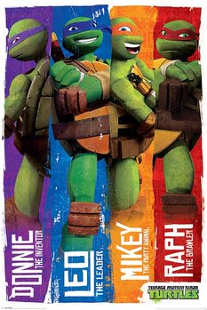 Tini nindzsa teknőcök - Profiles plakát