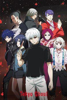 Plakát Tokyo Ghoul - Group