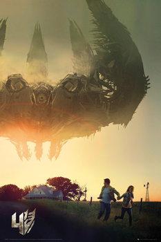 Transformers 4: A kihalás kora - One Sheet plakát