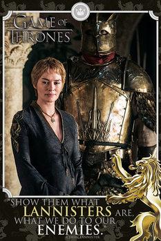 Trónok Harca - Cersei Tyrion Plakát