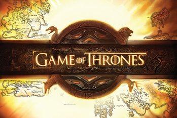 Trónok harca - Game of Thrones - Logo plakát