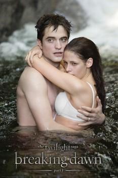 Plakát TWILIGHT BREAKING DAWN - edward & bella