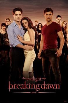 Plakát TWILIGHT - breaking dawn