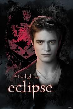 TWILIGHT ECLIPSE - edward crest Plakát