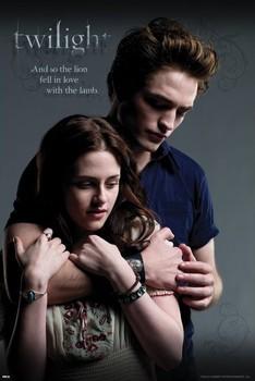 TWILIGHT - ed and bella embrance Plakát