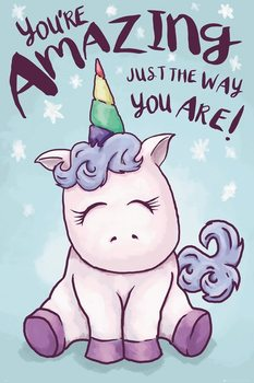 Plakát Unicorn - Amazing