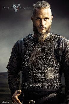 Vikingek - Ragnar Lothbrok Plakát