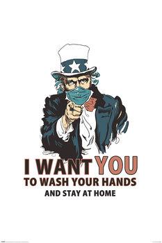 Plakát Vincent Trinidad - Wash Your Hands