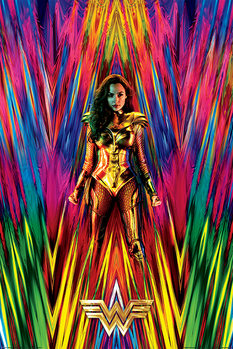 Wonder Woman 1984 - Neon Static Plakát