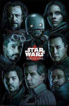 Zsivány Egyes: Egy Star Wars történet - Characters Plakát