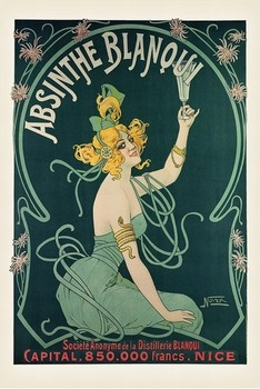 Plakat Absinthe Blanqui