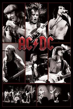 Plakat AC/DC - live