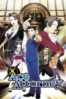 Plakát  Ace Attorney - Key Art