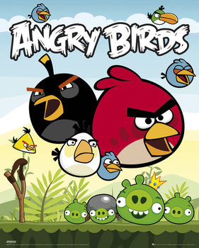 Plakat Angry Birds - Group