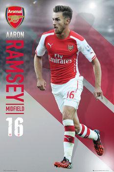 Plakát Arsenal FC - Ramsey 14/15