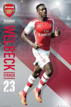 Plakat Arsenal FC - Welbeck 14/15