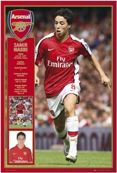 Plakát Arsenal - nasri 08/09