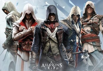 Plakát Assassin's Creed - Group