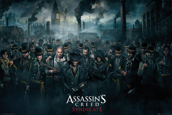 Plakát Assassin's Creed Syndicate - Crowd