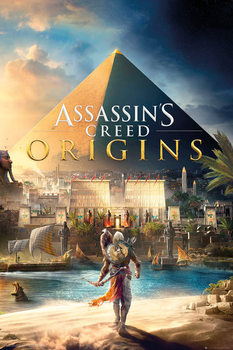 Plakát Assassins Creed: Origins - Cover
