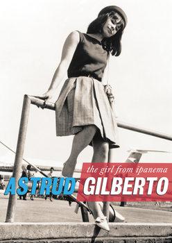 Plakát  Astrud Gilberto - The Girl from Ipanema, London Heathrow Airport 60s