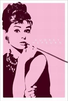 Plakat AUDREY HEPBURN II - cigarello