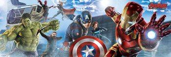 Plakat Avengers: Czas Ultrona - Skyline