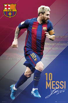 Plakat Barcelona - Messi 16/17
