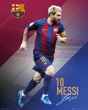 Plakat Barcelona - Messi 2016 - 2017